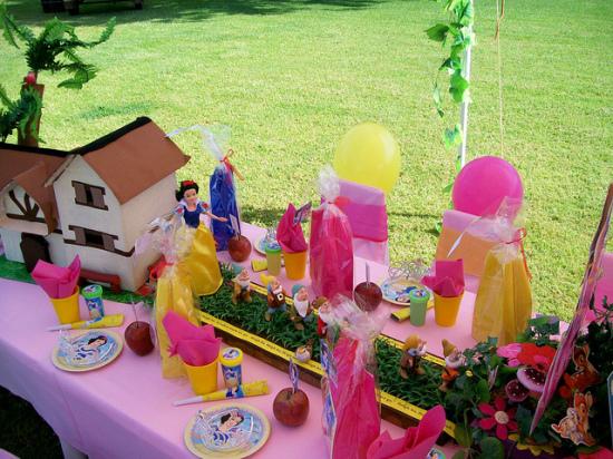 Disney Snow White Birthday Party Ideas