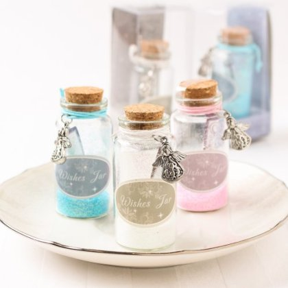 Angel Glitter Wishing Jars
