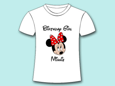 b3 minnie mouse birthday girl iron on tranfer download