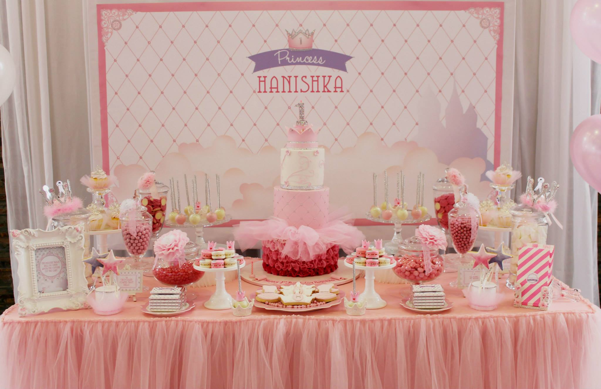 Bling Princess First Birthday Party Birthday Party Ideas & Themes