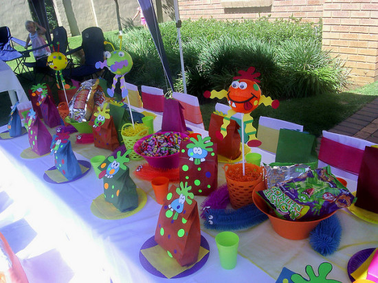 Colorful Monster Themed Decoration Ideas