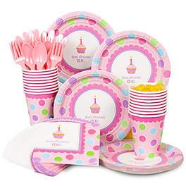 Cupcake Birthday Party Ideas first birthday