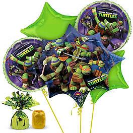 Ninja Turtle Birthday Party Ideas balloon kit