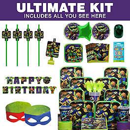 Ninja Turtle Birthday Party Ideas party kit