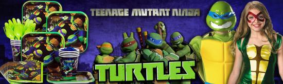 Ninja Turtle Birthday Party Ideas party sets