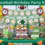 Football Themed Birthday Party Ideas