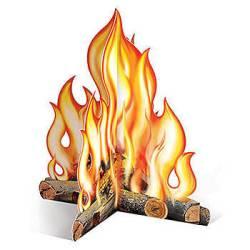 campfire decor