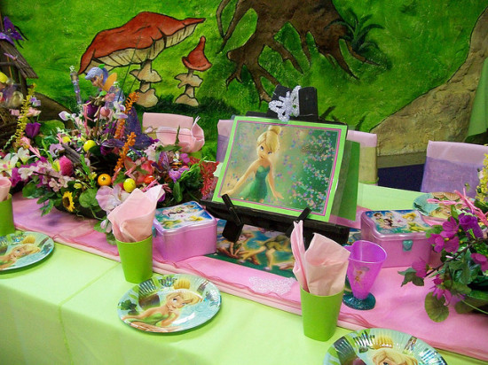 fairy tinkerbell birthday party