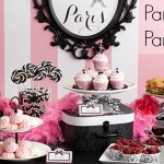 Pink Paris Birthday Party Ideas