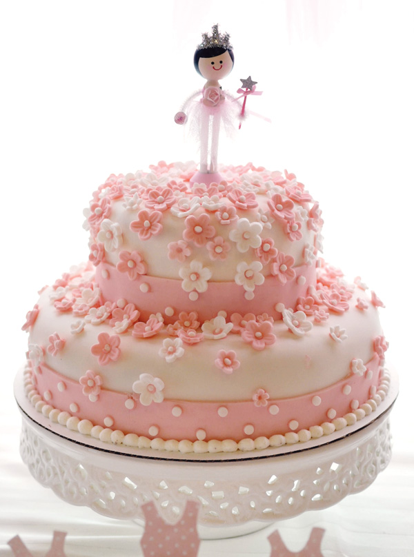 Tutu Themed Birthday Cakes