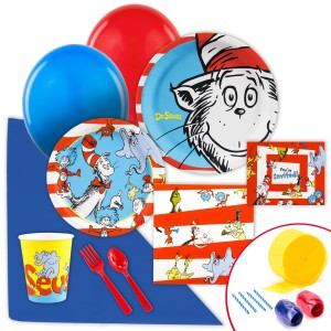 storybook dr seuss party supplies
