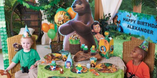 the jungle book birthday party ideas tableware