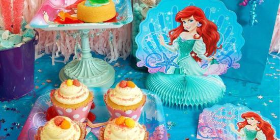 Disney Ariel Mermaid Birthday Party Ideas