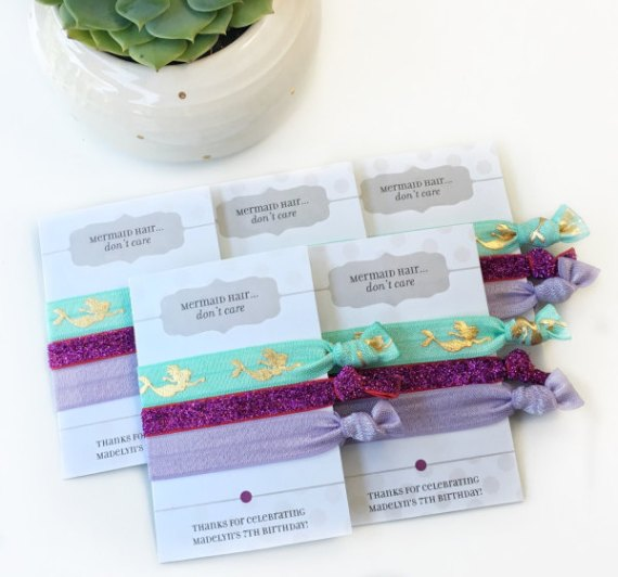 Mermaid Party Favors for Kids or Adults