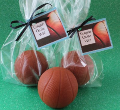Basketball Party Favor Soaps