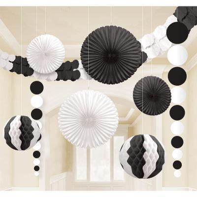 Black & White Paper Decorating Kit