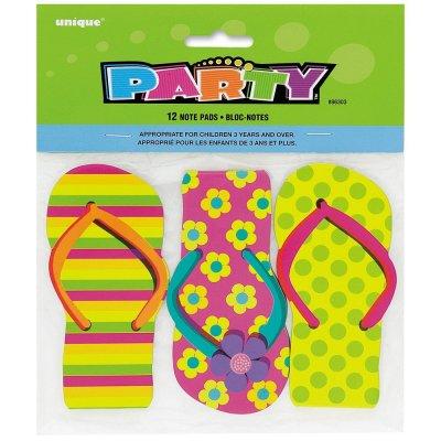 Flip Flop Notepad Party Favors