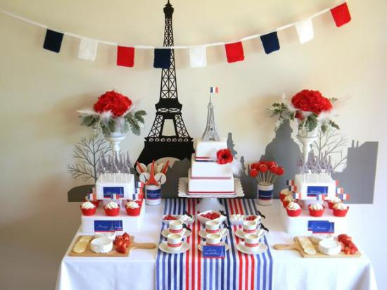 Paris Winter Birthday ideas