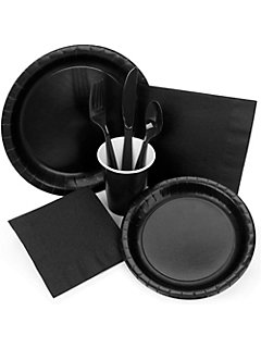 Black Tableware