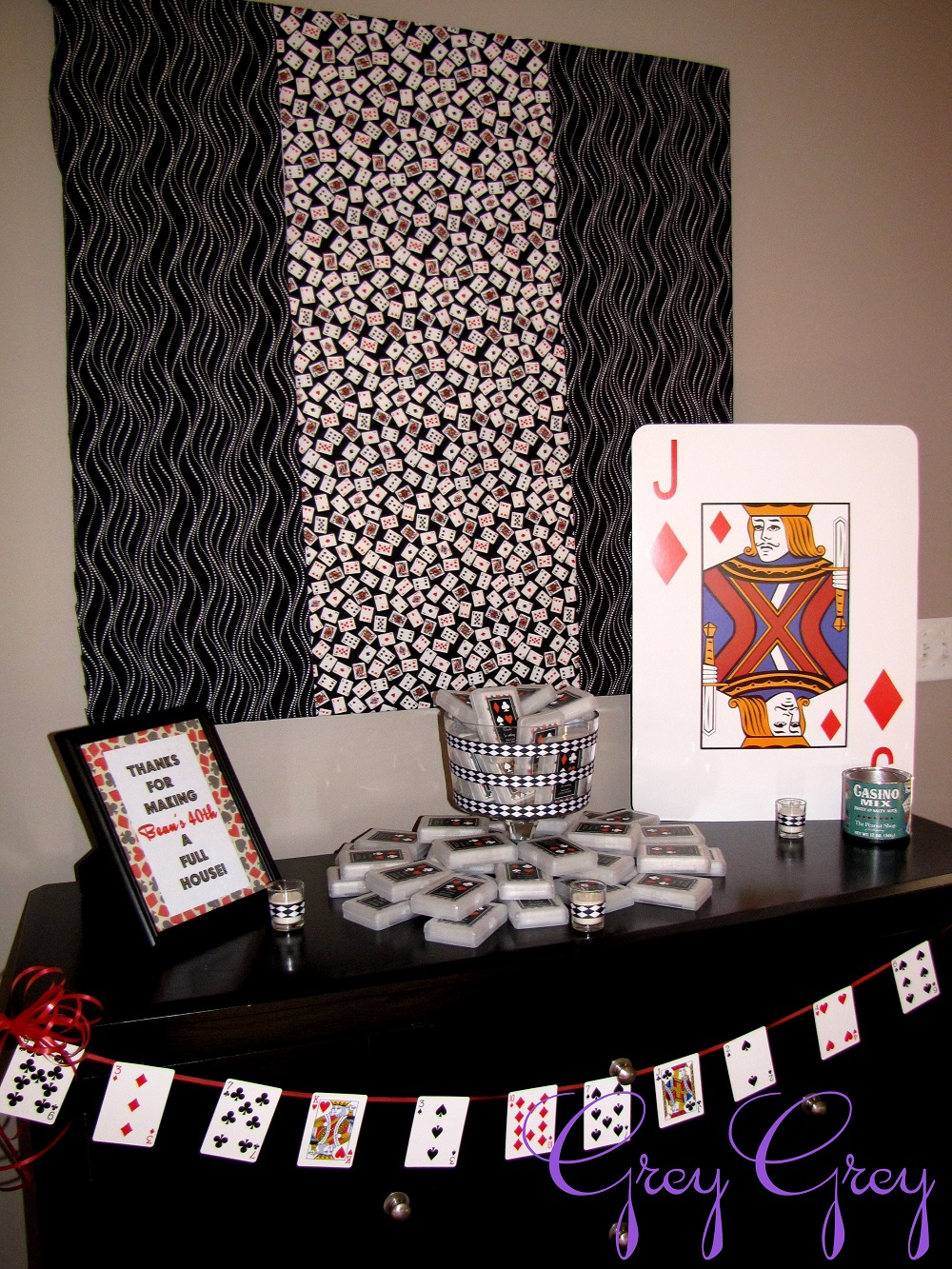 40th las vegas casino birthday party birthday party for 40th decoration ideas