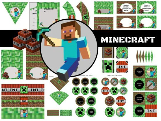 minecraft-party-pack