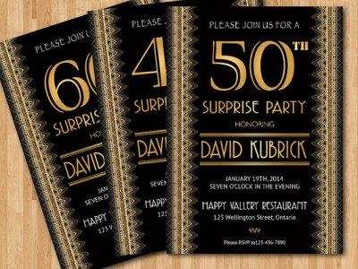 Roaring Twenties Great Gatsby Party Ideas Birthday Party Ideas – Great Gatsby Party Invitations