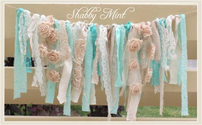 Mint Shabby Banner
