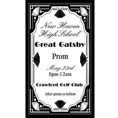 Roaring Twenties Great Gatsby Party Invitations