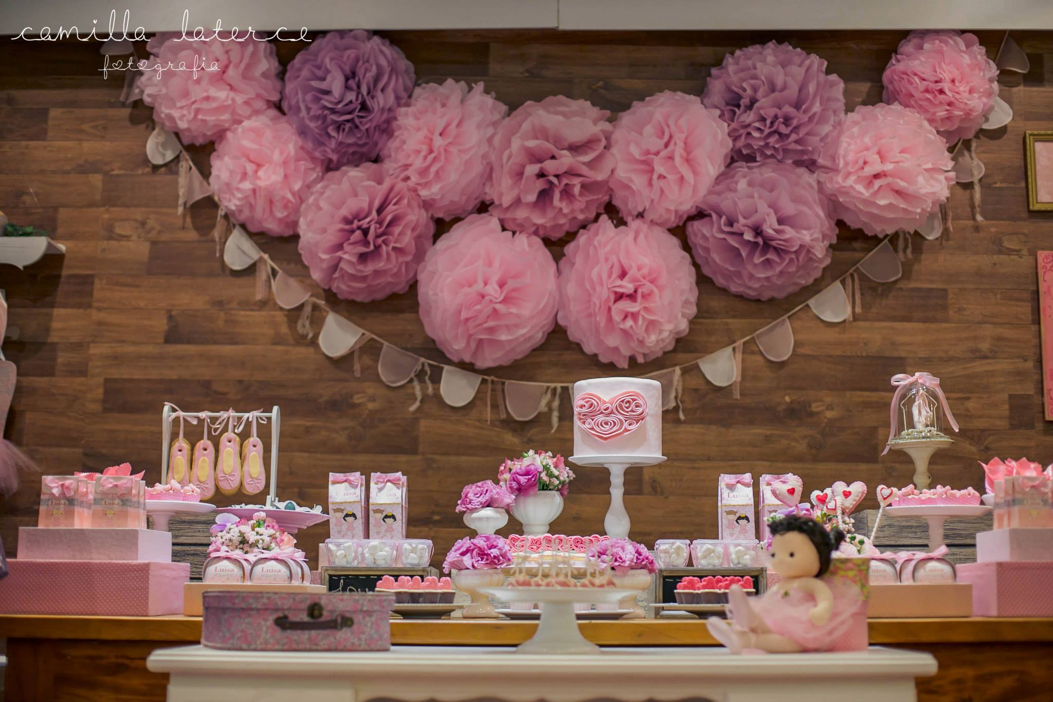 sweet ballerina birthday party