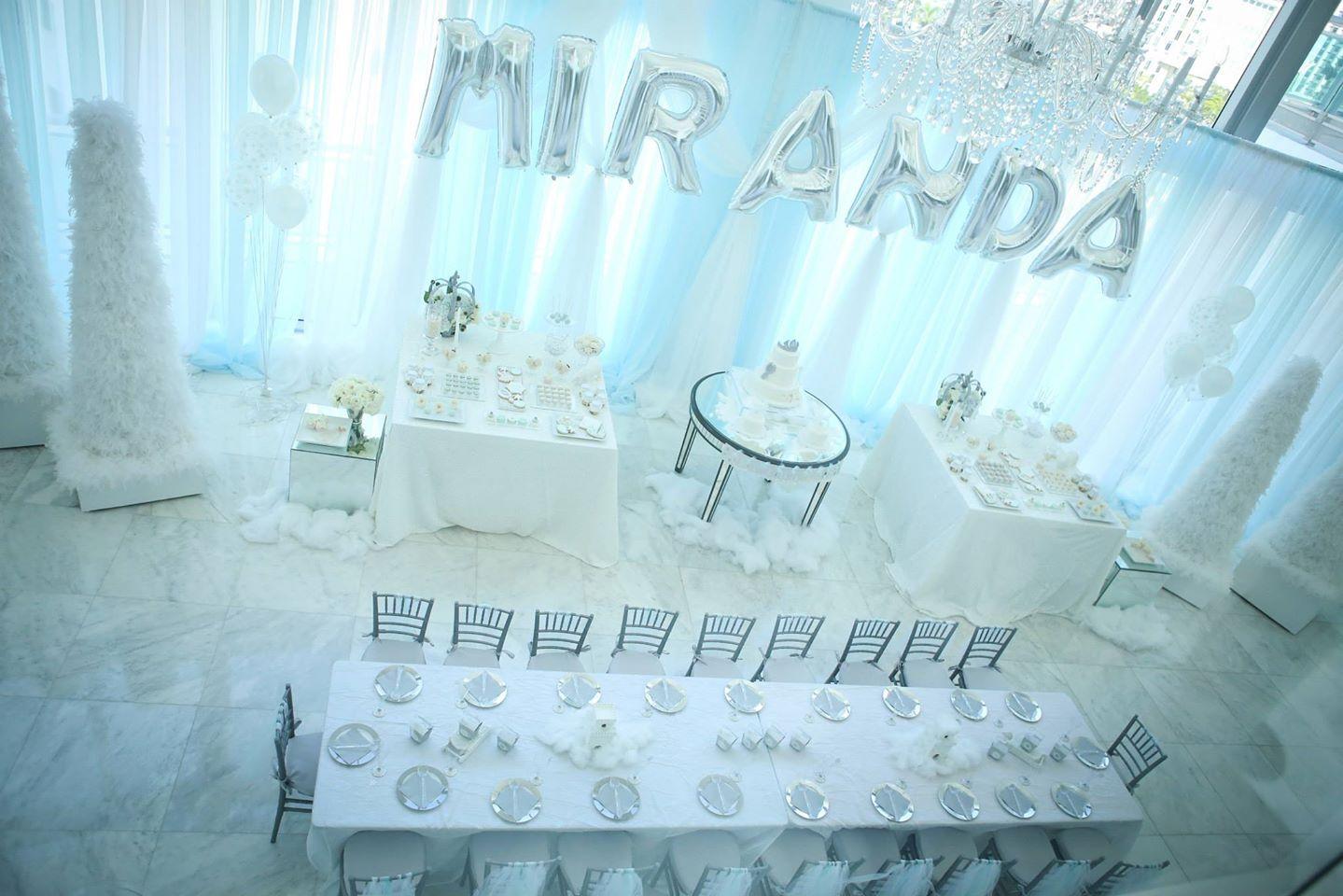 Snow princess birthday party ideas themes