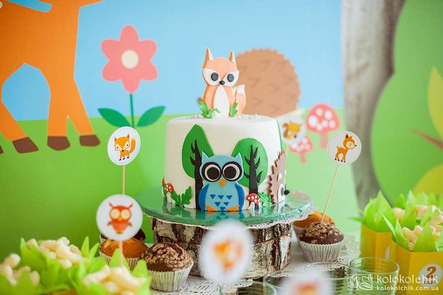 Cute Woodland Birthday Party Birthday Party Ideas Themes