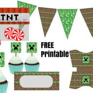 Free Minecraft Printable