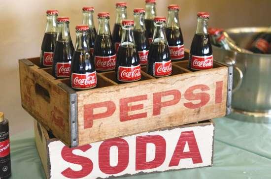 50's Diner Soda Shop Party coca cola