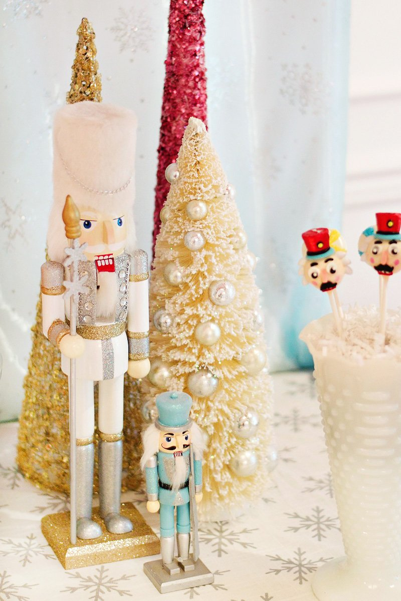 Nutcracker Inspired Winter Ballet Party Birthday Party