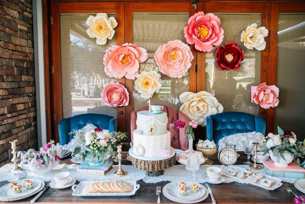 Ariana in onederland first birthday party birthday party ideas ariana in alice in wonderland first birthday party dessert filmwisefo