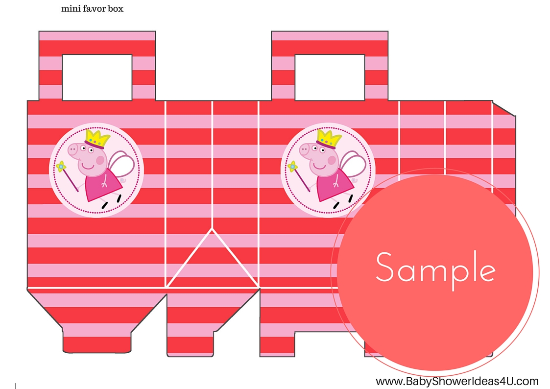 FREE Princess Peppa Pig Printable - Birthday Party Ideas & Themes