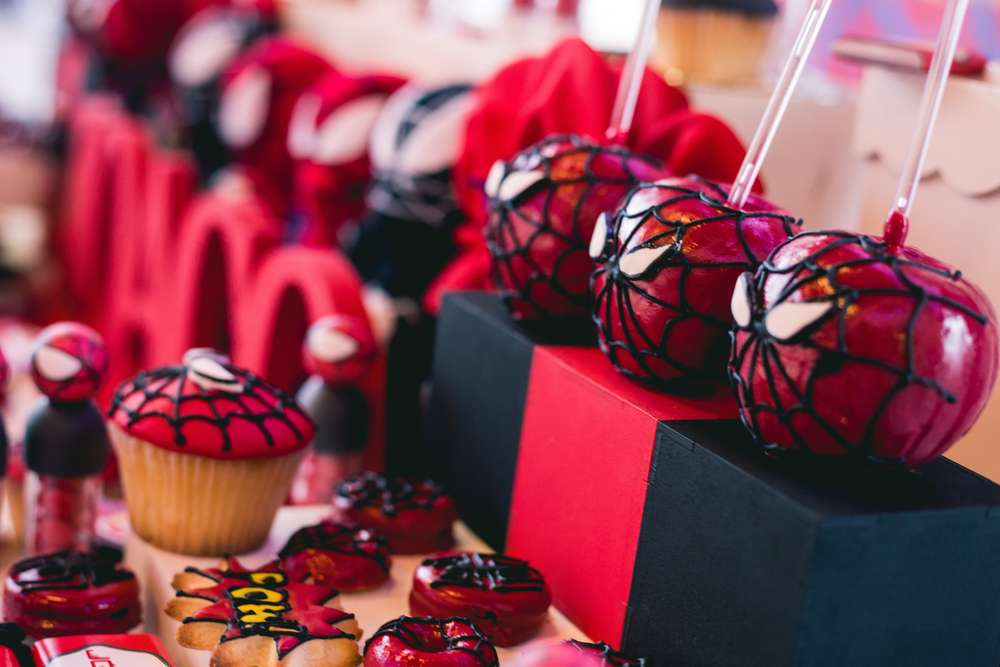 Red White Spiderman Birthday Party Birthday Party Ideas Themes