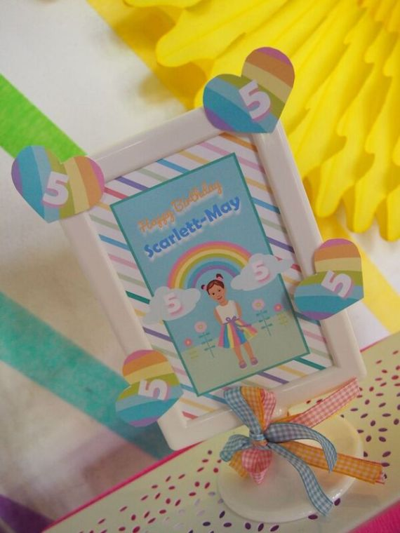 Rainbow-Unicorn-Birthday-Party-Art-Frame