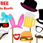 Free Printable Party Photobooth Props
