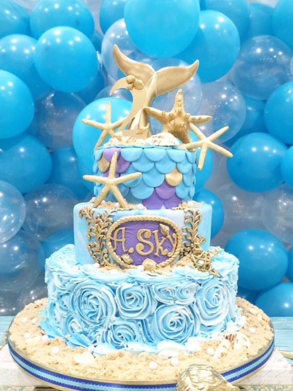 Magical-Little-Mermaid-Birthday-Dessert