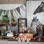 Wild Animal Safari Birthday Party