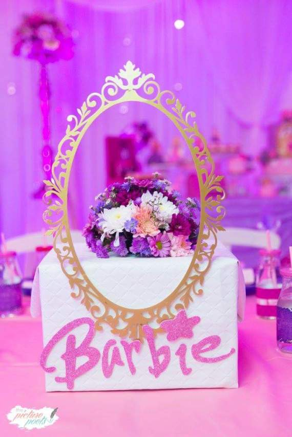 Barbie-Fashionista-Birthday-Bash-Frame-Art