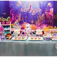 Bubbling-Under-The-Sea-Birthday-Dessert-Table