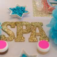 Glittering-Spa-Birthday-Party-Shimmer-Gold-Letters