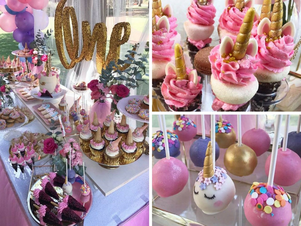 Magical Unicorn First Birthday Party
