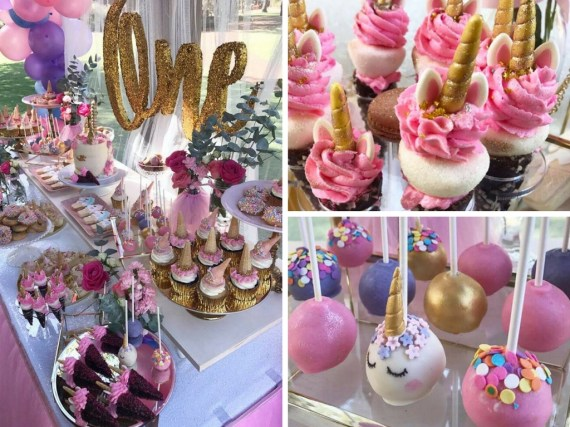 first-unicorn-birthday-party-pink-gold