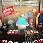 Charming Gone Fishing Birthday Party