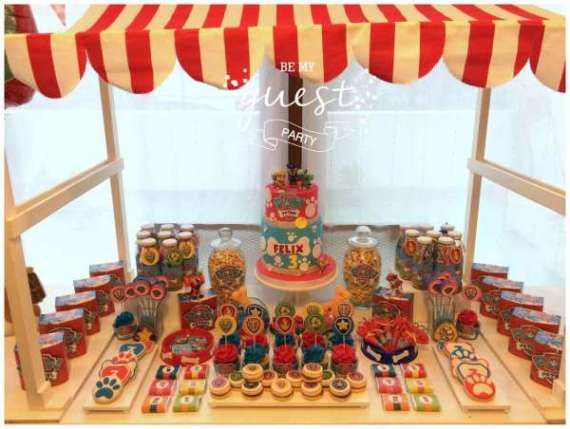 Colorful-Paw-Patrol-Birthday-Party-Dessert-Table