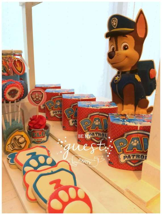 Colorful-Paw-Patrol-Birthday-Party-Paper-Art