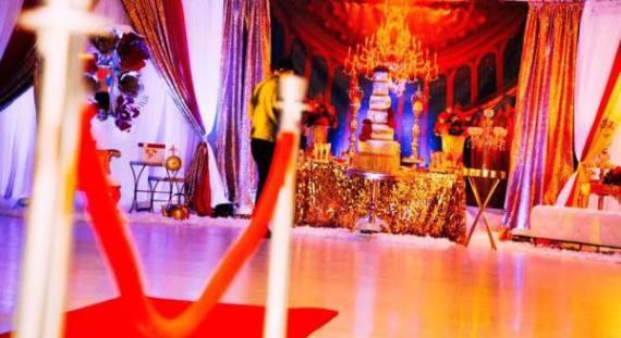 Golden-Beauty-And-The-Beast-Birthday-Dance-Floor